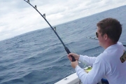 3-Hour Twilight Fishing Charter with Dinner for Just $99! Worth $295. All Equipment Provided. Departs from Balmoral Wharf