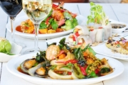 Chic Thai Banquet for 2 for Just $39! Worth $119. Crispy Fish Cakes, Soft Shell Crab, Tender Duck Curry, Pad Thai & More! Darlinghurst