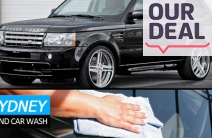 Deluxe Carwash, Polish & Finish for Just $45! Worth $95. Includes Interior Vacuum & Treatment & Engine Steam Clean. 3 Western Sydney Locations