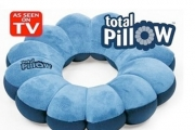 Protect Your Neck with a 5-in-1 Total Pillow for Just $19! Great for Travelling. Works as a Seat Cushion, Lumbar Support, Head Rest & More