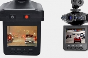Genius HD In-Car Safety DVR Camera with 2.4