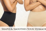 Get a Smooth Silhouette with 2 Slimming High-Waisted Shapewear G-Strings – One Nude & One Black for Just $19! Worth $95. Delivery Included