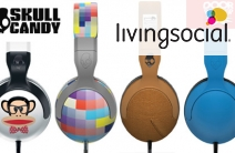 Sweeten Up the Music to Your Ears with a Pair of SKULLCANDY Headphones for Just $50! Valued at $109. Choose from 5 Stylish Designs