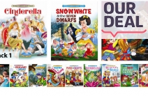 Share Your Favourite Childhood Stories with a Pack of 12 Classic Children's Storybooks for Just $24! Read Cinderella, Hansel & Gretel & More