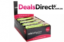 Get a Pack of 12 Celebrity Slim Low-Carb Meal Bars in Choc-Mint for Just $29! Worth $62. Includes Delivery. Reach Your Weight Loss Goal