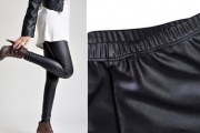 Rock Your Wardrobe with a Pair of Black Faux Leather Fashion Leggings for Just $15! Valued at $49. Hot Trend for Winter