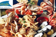 Seafood Platter for 2 with Wine at Award-Winning Yellowfin Restaurant for Just $59! Worth $150. Dine on QLD Crab, Oysters, King Prawns & More!