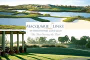 Get to the Green with 18-Holes for 2 with Cart Hire & Beers for Just $110! Worth $230. Play at the Macquarie Links International Golf Club