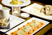 Dine in Style at the Chifley Tower! Gourmet Italian 5-Course Degustation Dinner for 2 Including an Aperitif & Digestif for Just $69! Worth $160