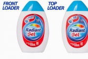 12 Bottles of Radiant Washing Machine Gel for Front or Top Load Machines for Just $65! Worth $133. Get 210 Washes for Just 30 Cents a Load