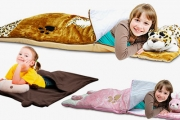 Keep Your Child Snug-as-a-Bug with an Animal Sleeping Bag for Just $29! Worth $59. Includes Delivery. Choose Leopard, Monkey or Bunny Rabbit