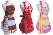 Cook in Style with a Cute Apron for Just $19! Worth $45. Three Styles to Choose From! Great Gift Idea for the Baker or Cook in Your Family