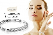 Jazz Up Your Wrist with the St Germain Bracelet for Just $19! Worth $89. Inspired by the Trendy Paris District. Features Swarovski Elements