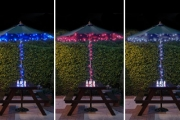 Make Your Home Sparkle with a 10-Metre String of Solar Powered LED Fairy Lights for Just $29! Worth $69. Available in Red, White or Blue