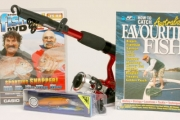 Fishing Fans! Get an AFN Traveller Rod Fishing Pack for Just $33! Worth $70. Incl. Rod & Reel Kit, Yoshikawa Diving Minnow, Book & Sport Fish DVD