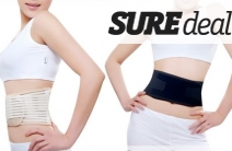 Self-Heating Tourmaline Back Support Strap for Just $24! Valued at $59. Helps Relieve Common Muscle Aches & Pains with Lower Back Support