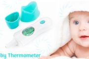 Keep Baby Safe with a 4-in-1 Digital Infrared Baby Thermometer for Just $29! Worth $59. Measure Ear, Forehead, Room & Liquid Temperatures