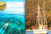 WHITSUNDAYS Embark on a 4-Day Tall Ship Whitsunday Cruise for Just $899! Worth $2009. Incl. All Meals & Drinks, Diving, Kayaking & Entertainment