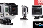 Be Ready for Anything with a GoPro HD HERO3 Camera Silver Edition for Just $279, Valued at $399! Wear It & Mount It - Weighs Only 2.6 Ounces